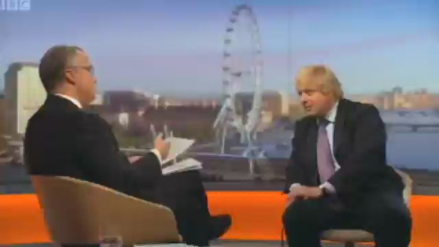 Lest we forget 'You're a nasty piece of work' Eddie Mair exposes Boris...