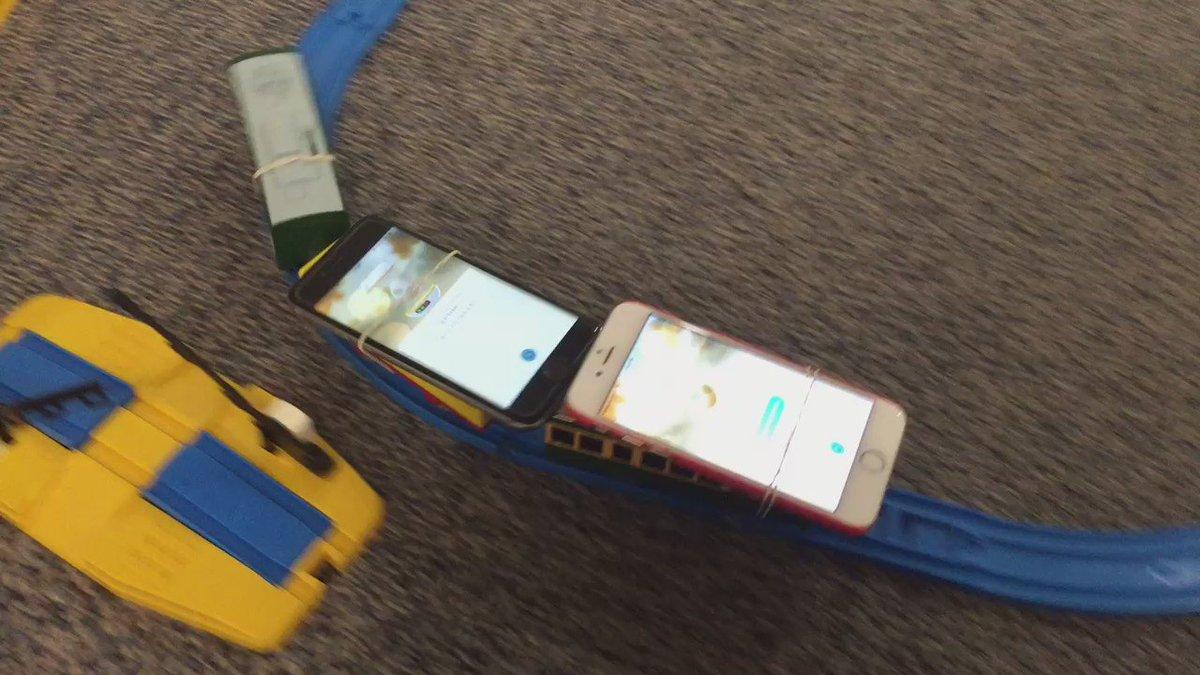 会社戻ったらタマゴ孵化装置が運行してた #ポケモンGO pic.twitter.com/SASdXJNqC3