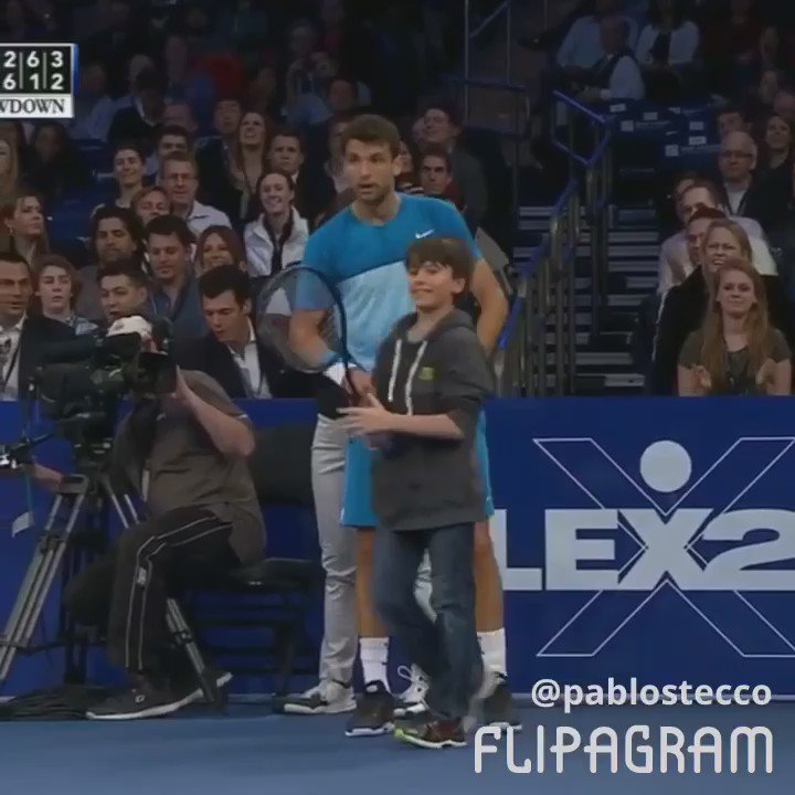 El día que un pibe le ganó un punto a Federer. https://t.co/0Mk5OiVAsC
