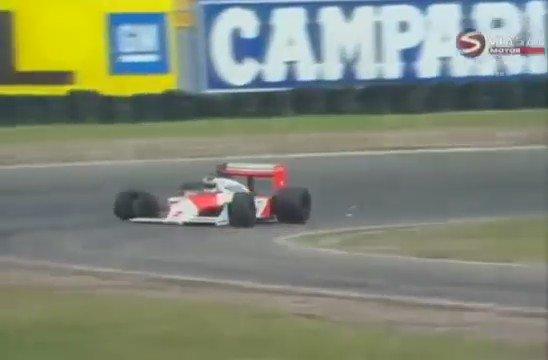 #F1 Stefan Johansson (@SJohanssonF1) - 2nd place - Hockenheim-1987. https://t.co/V9F1l1CCli