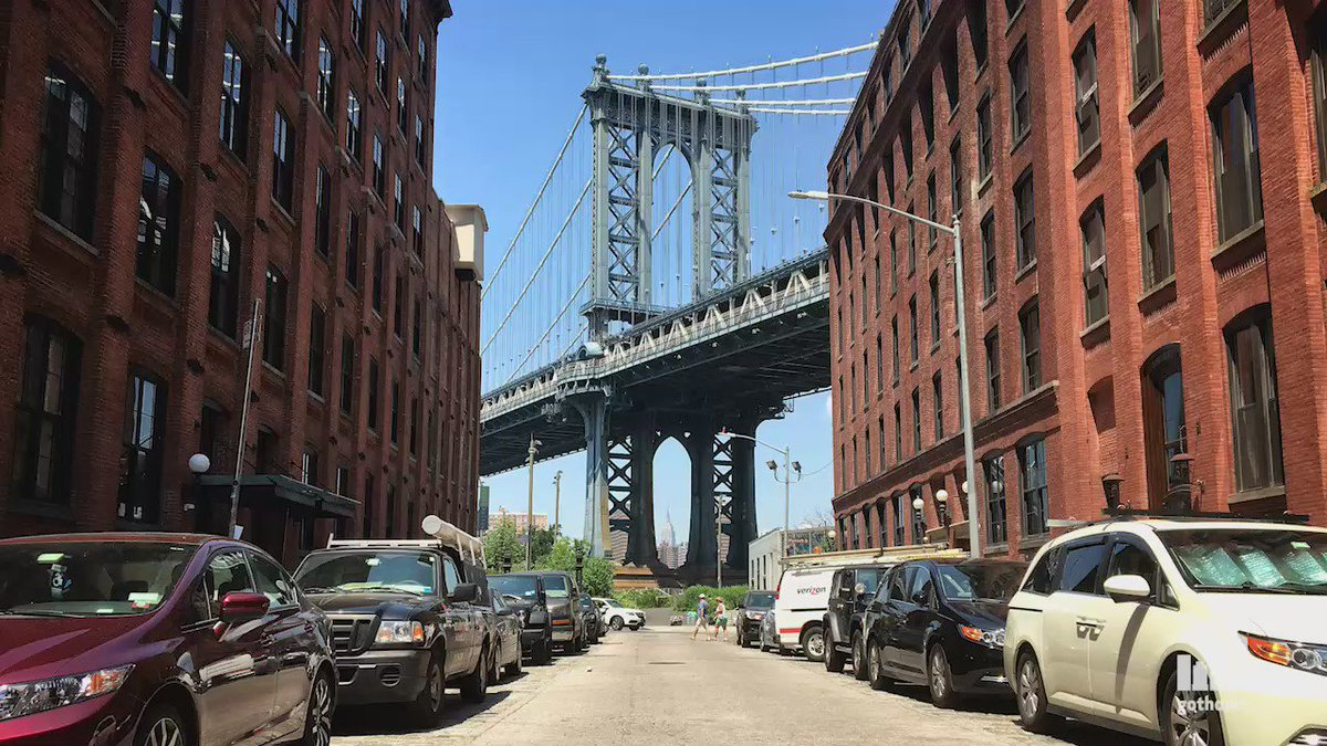 Behold, the most Instagrammed spot in Brooklyn (probably)