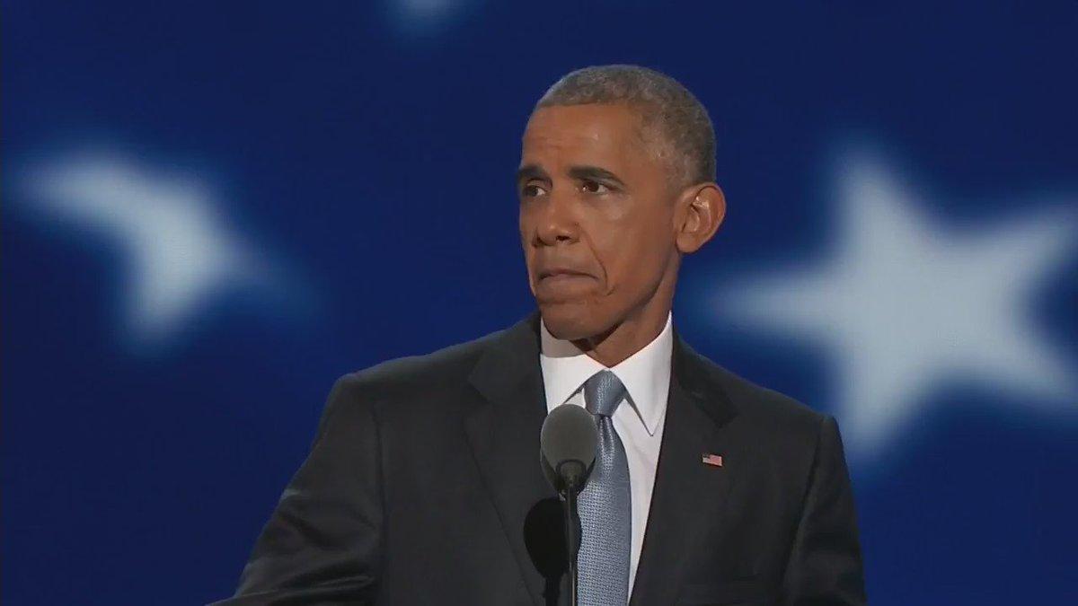 """""""Don't boo..... vote!"""" - President @BarackObama at #DNCinPHL. https://t.co/KSkjQXufmT"""