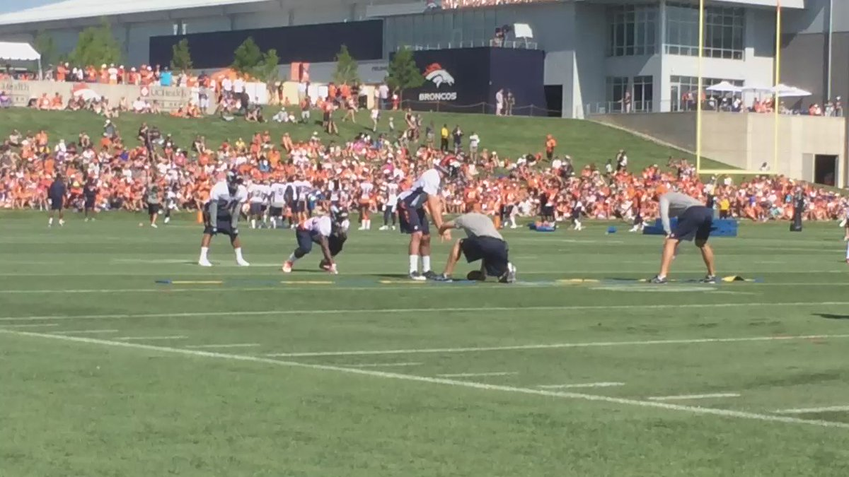 This RB group is deep folks... Including the rookie Booker here BroncosCamp