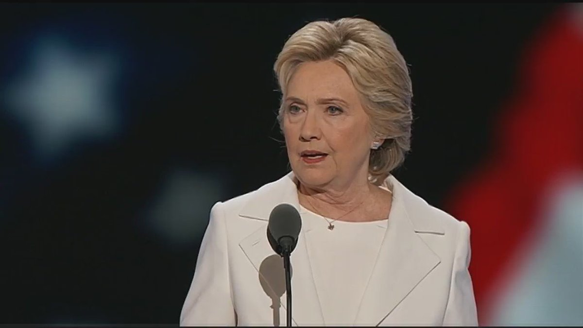 Hillary Clinton on Dallas PD ambush, Chief Brown's response & surge in applications DemsInPhilly
