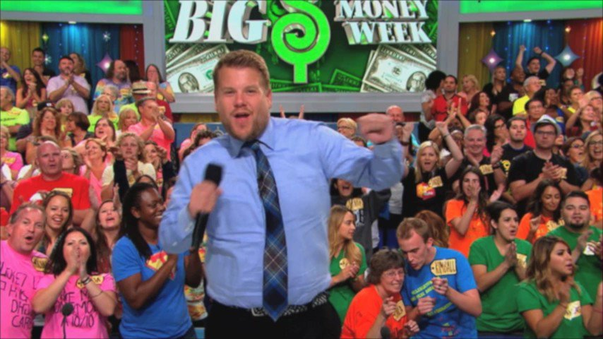. @JKCorden shows off his modeling skills Monday on the #PriceIsRight- you won't want to miss it! https://t.co/xQZ4uQLGQk
