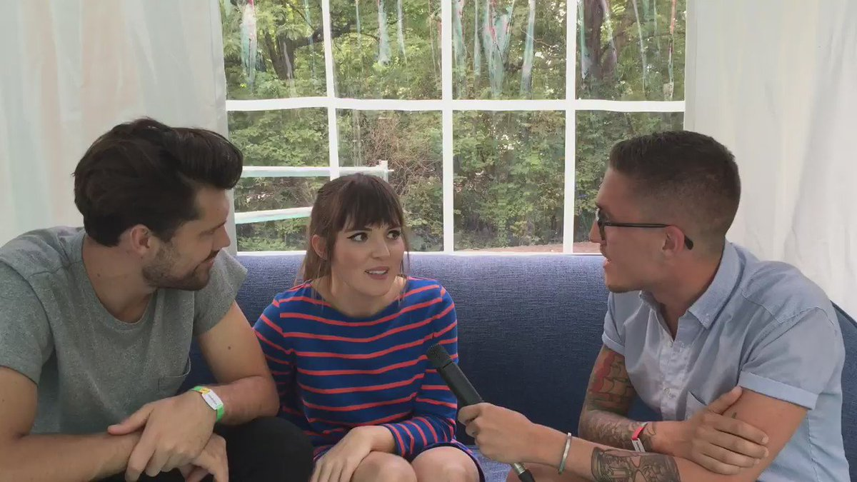 What's tour life like for @OhWonderMusic? My interview with the great Josephine and Anthony.