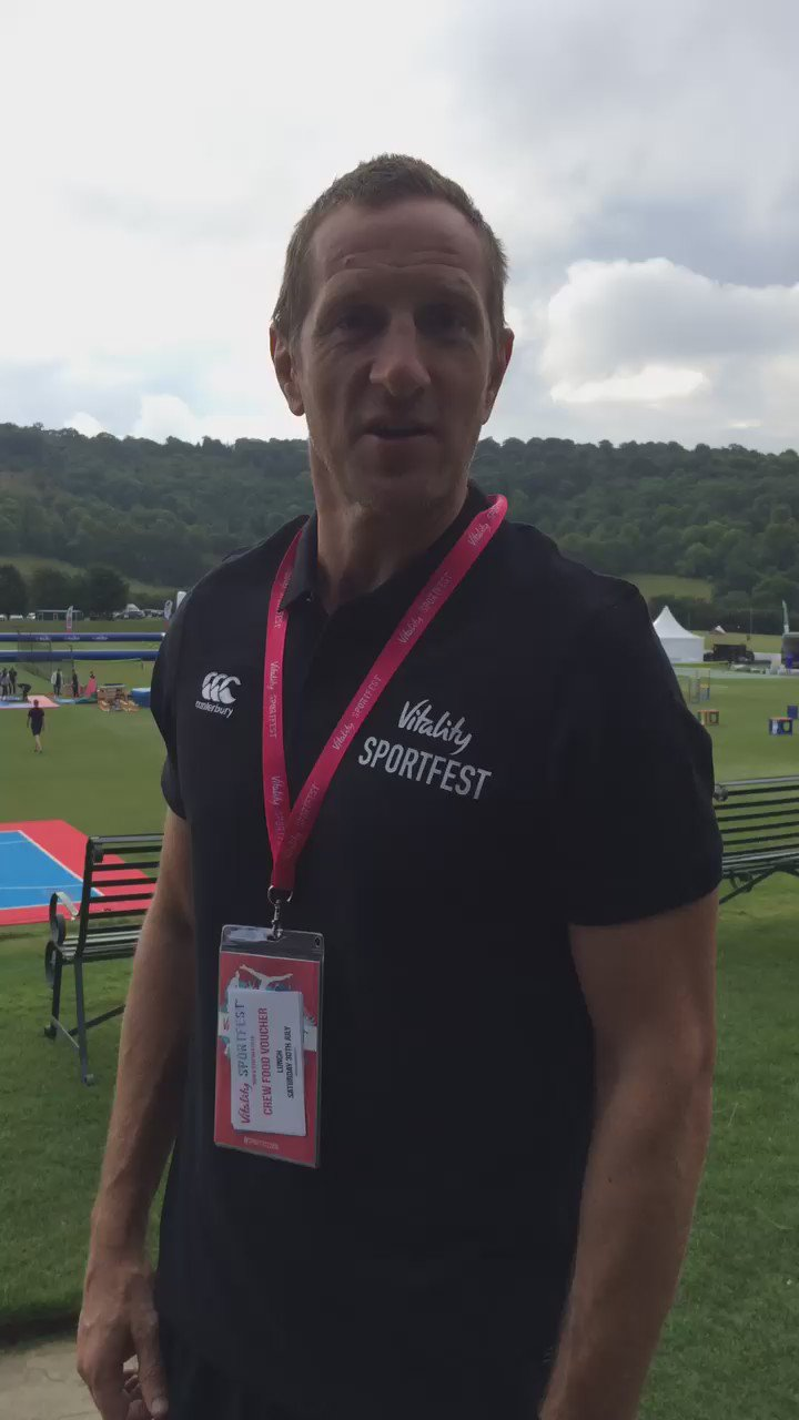 RT @SportFest2016: We're ready. @WillGreenwood is ready. Are you ready? #sportfest #letsdothis https://t.co/DGFcsfIgCf