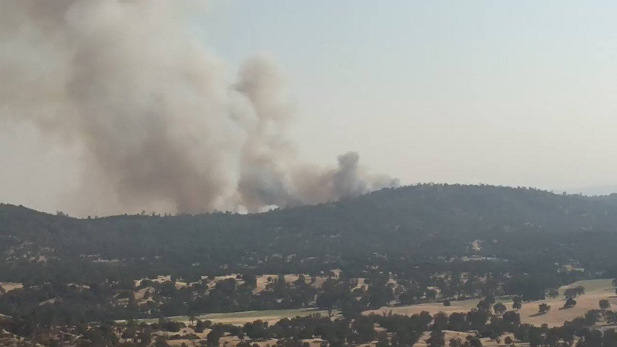 Firefighters are battling a new 100 acre fire east of San Jose (Santa Clara Co) SierraFire Video by: @TopMdw