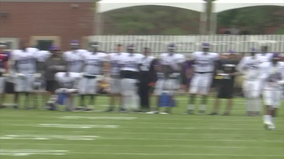 Things got a little fiesty this afternoon at #VikingsTrainingCamp. Hear from players tonight at 6 on FOX 9. https://t.co/VVrIArpBkX