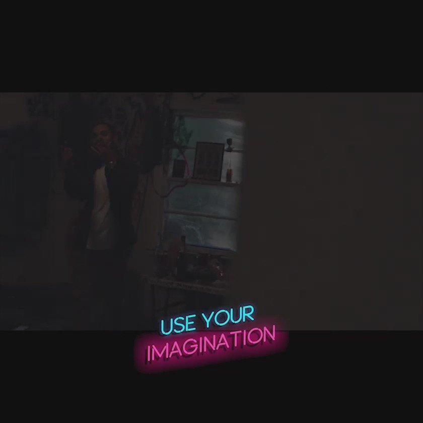 USE YOUR IMAGINATION  shot by @Kendu56  prod by @TrimzBeatz  enjoy... https://t.co/u450EJ2ex7 https://t.co/JFc2rwcVGE