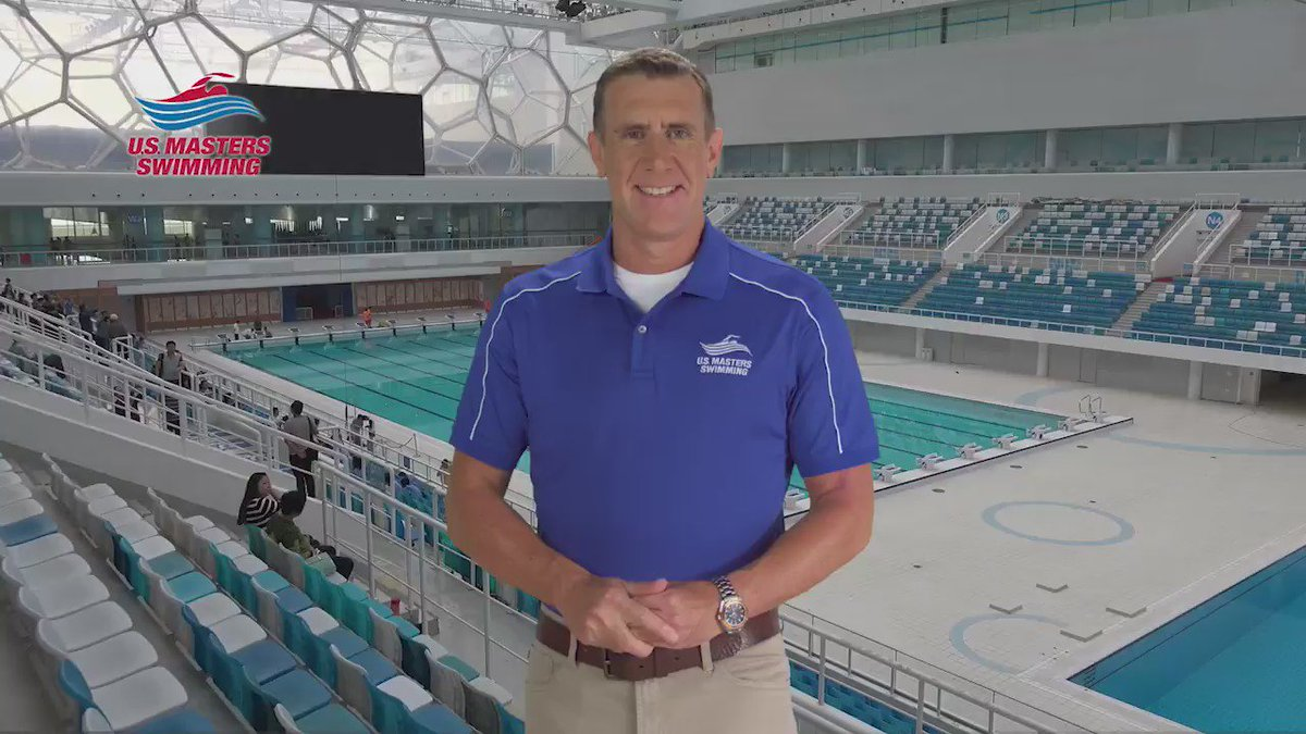 Did you know 4/10 people can't swim the length of a pool? Not cool! That's why I've teamed with @MastersSwimming!
