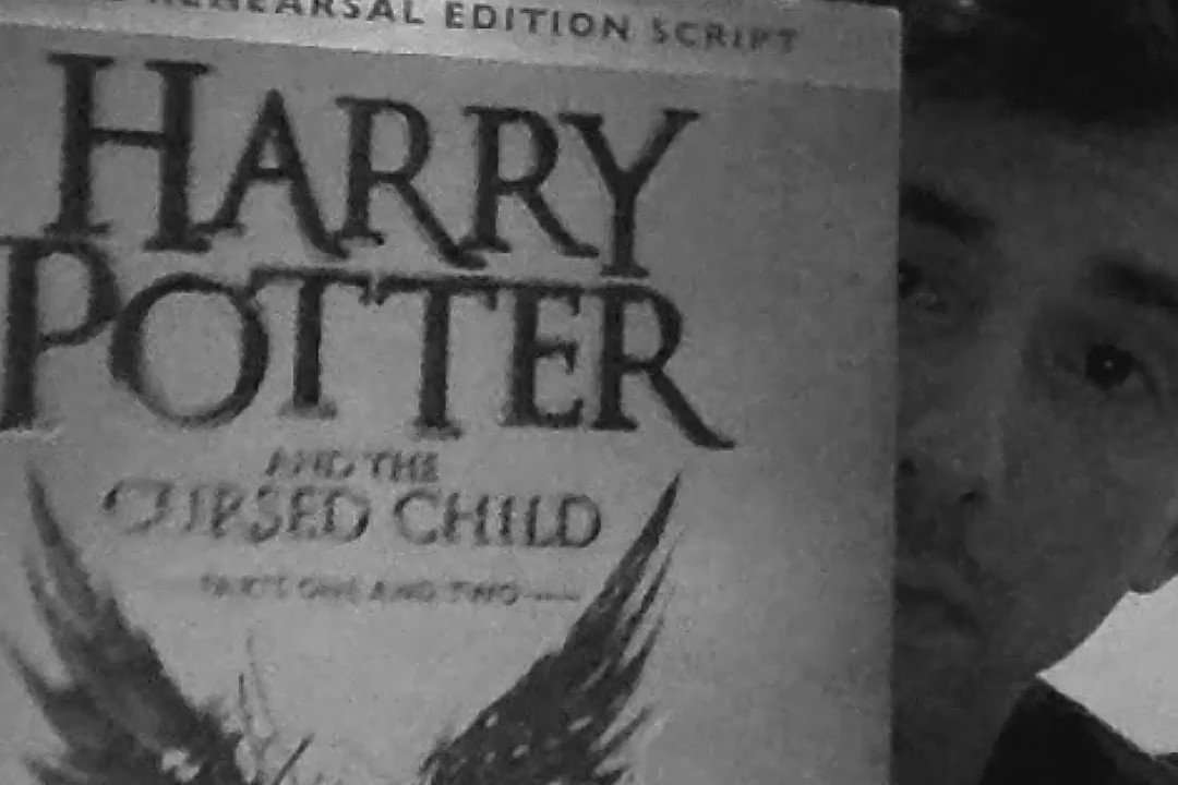And so the magic begins... #HarryPotterAndTheCursedChild https://t.co/RRHwy6cQxs