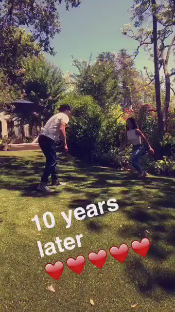 We had to. #stepup10years https://t.co/nVdn9zg4ox