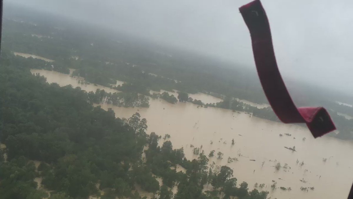 The Amite River Basin between Watson and Central thanks to the @uscoastguard #laflood #lawx https://t.co/jKYZzpScZh