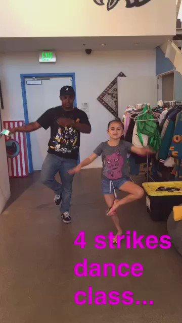 tyler is also a dance teacher...