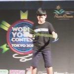 オリンピックのメダルラッシュも凄いけど、 ヨーヨーの世界大会に日本の11歳男子が大人に混じって優勝しているということもお忘れなく。 !