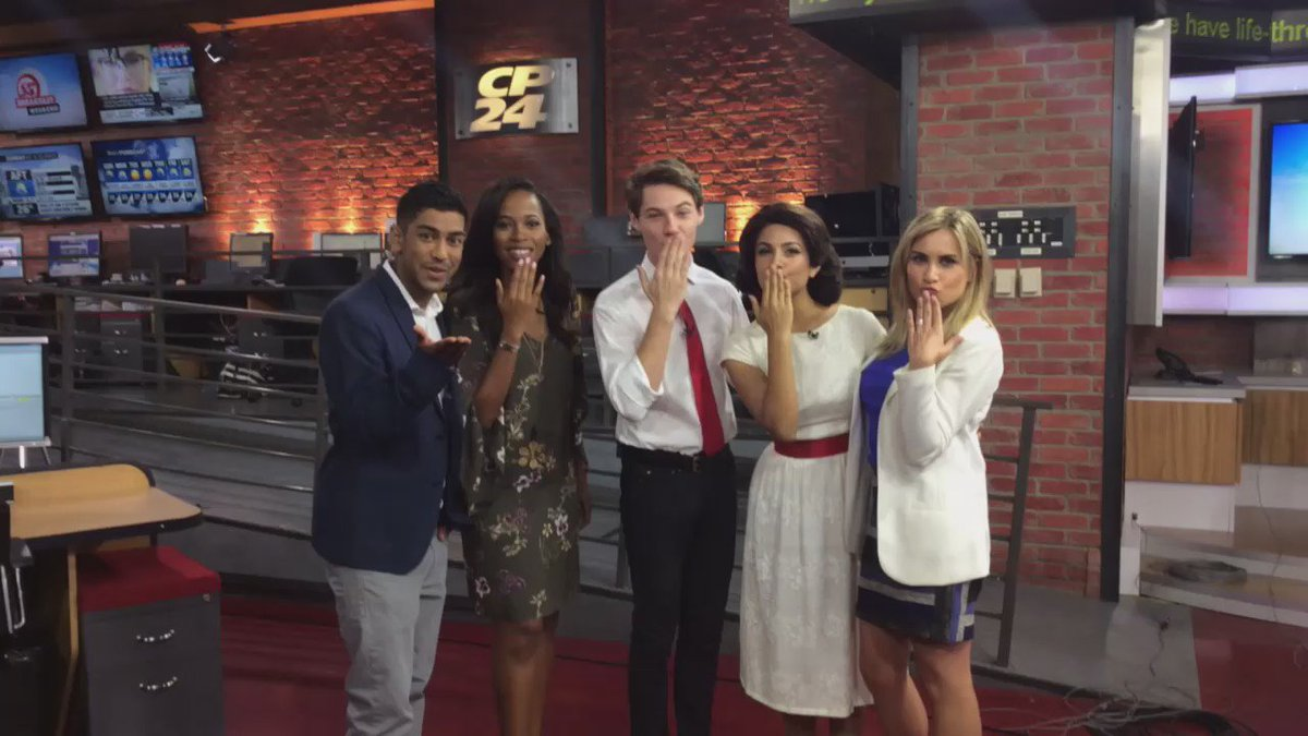 """CP24 Breakfast on Twitter: """"Kisses from the cast of ..."""