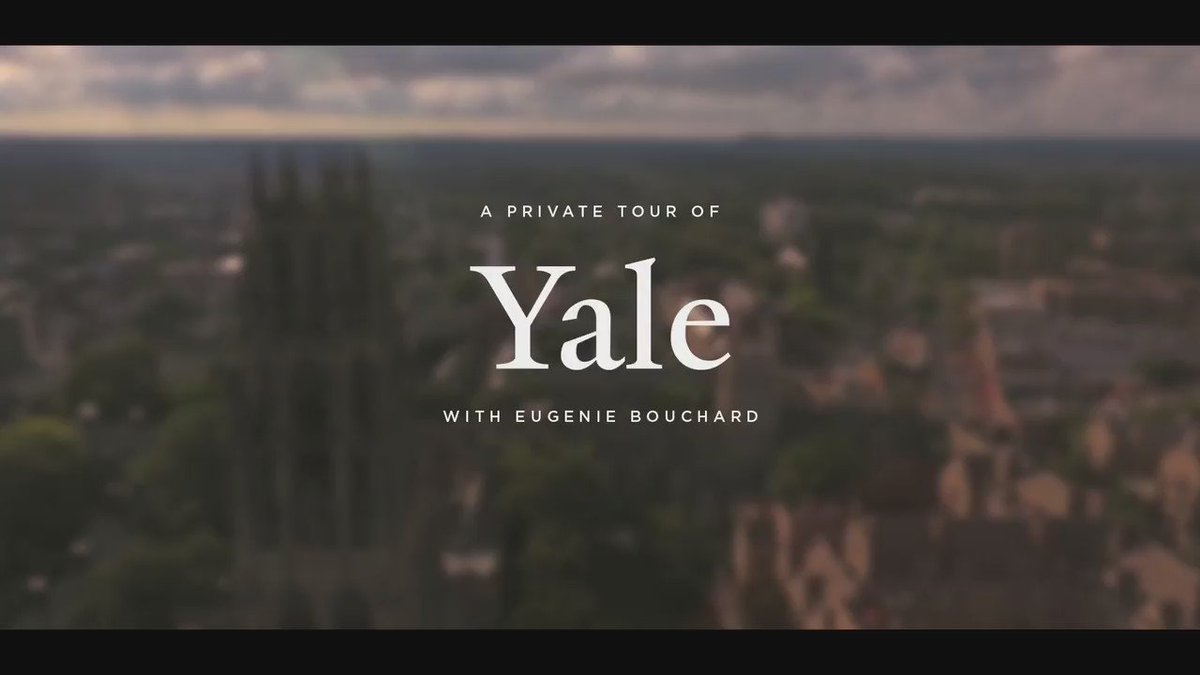 .@GenieBouchard: former world No. 5 and potential @Yale prospective student? #CTOpen16 https://t.co/OMF1SA9Bhy