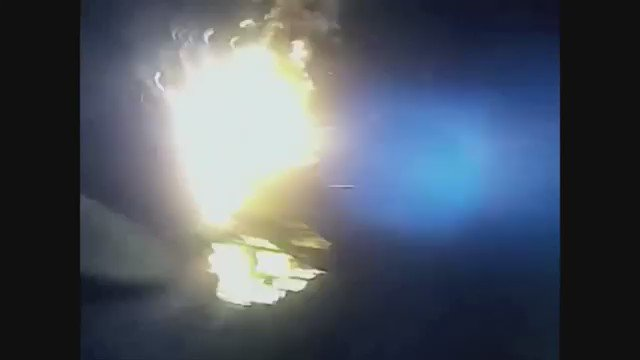 Incredible Video: Officer saves man from a burning vehicle. Details coming up on KIRO 7 News.
