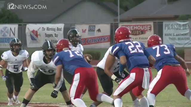 Hot shot play of the week nominee! @VodreyG goes 40 yards to the house, but was he down? FridayNightFever 12Sports