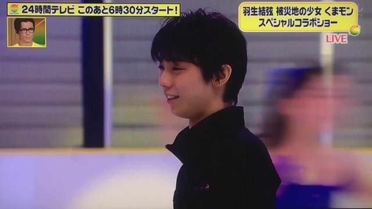 Image for the Tweet beginning: くまモン、羽生選手と共演! 熊本の想いを背負ってついにフィギュアスケートデビュー