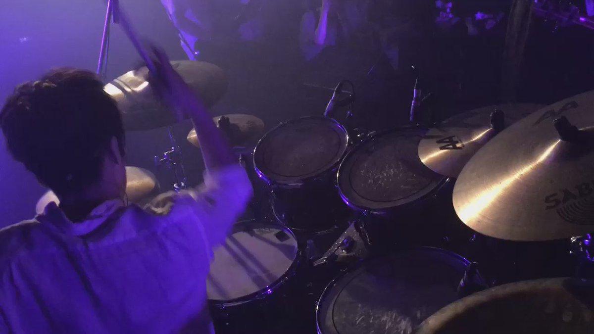 L.I.N.Eレコ発やり切りました! 最高に楽しかったです!✨ 周りの人に支えてもらってドラムが叩けてます! ありがとうございます!