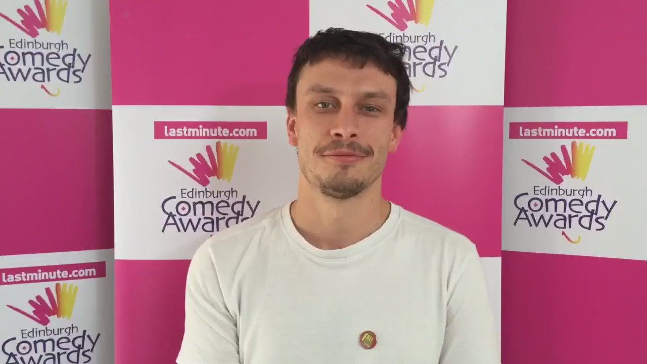 """""""Just be true to yourself"""" We asked @ComedyAwards winner @MrRichardGadd if he had advice for aspiring comedians. https://t.co/cPNYN7HDLf"""