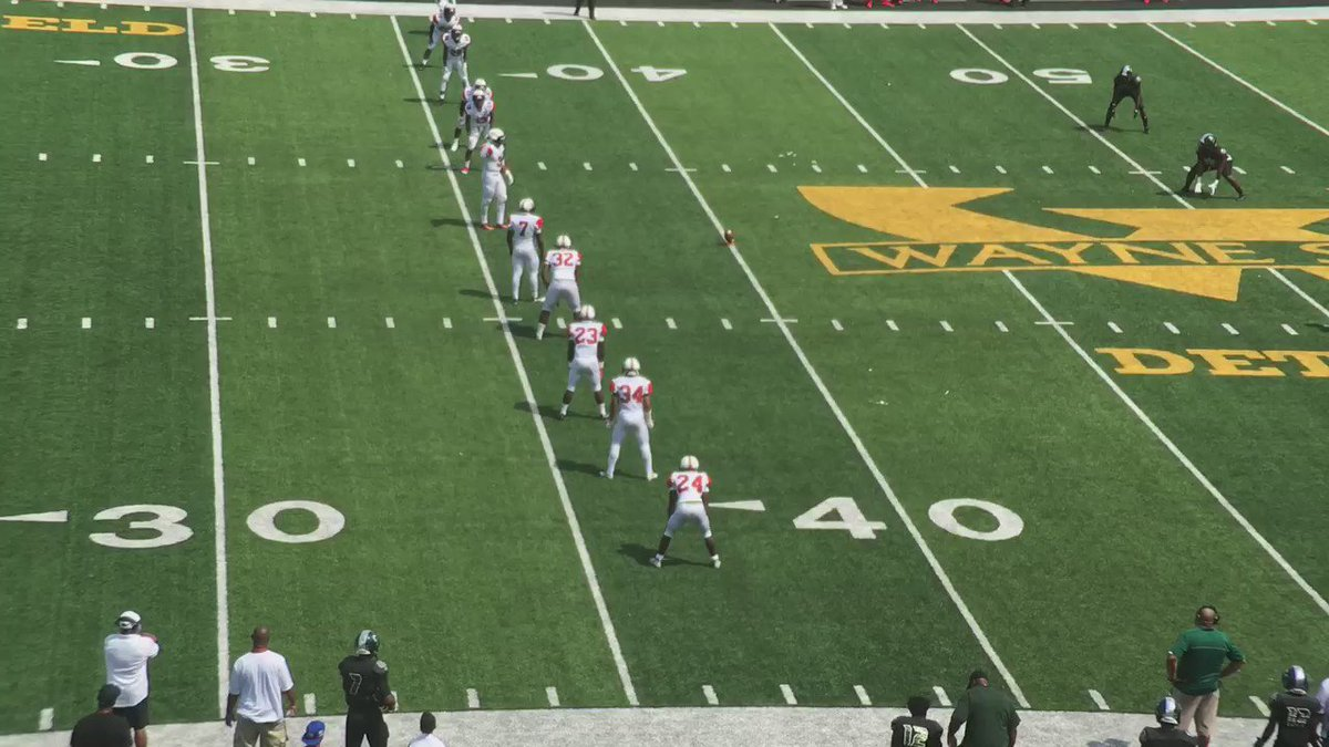 Cass tech's Donovan Johnson returned ensuing kickoff 83 yards to knot the score with Oak Park again at 21