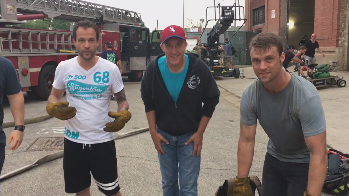Day 7 of 22 push-up challenge with @Jesse_Spencer Nick Klein and Mike Hanley #22PushupChallenge https://t.co/qBeMuAybfc