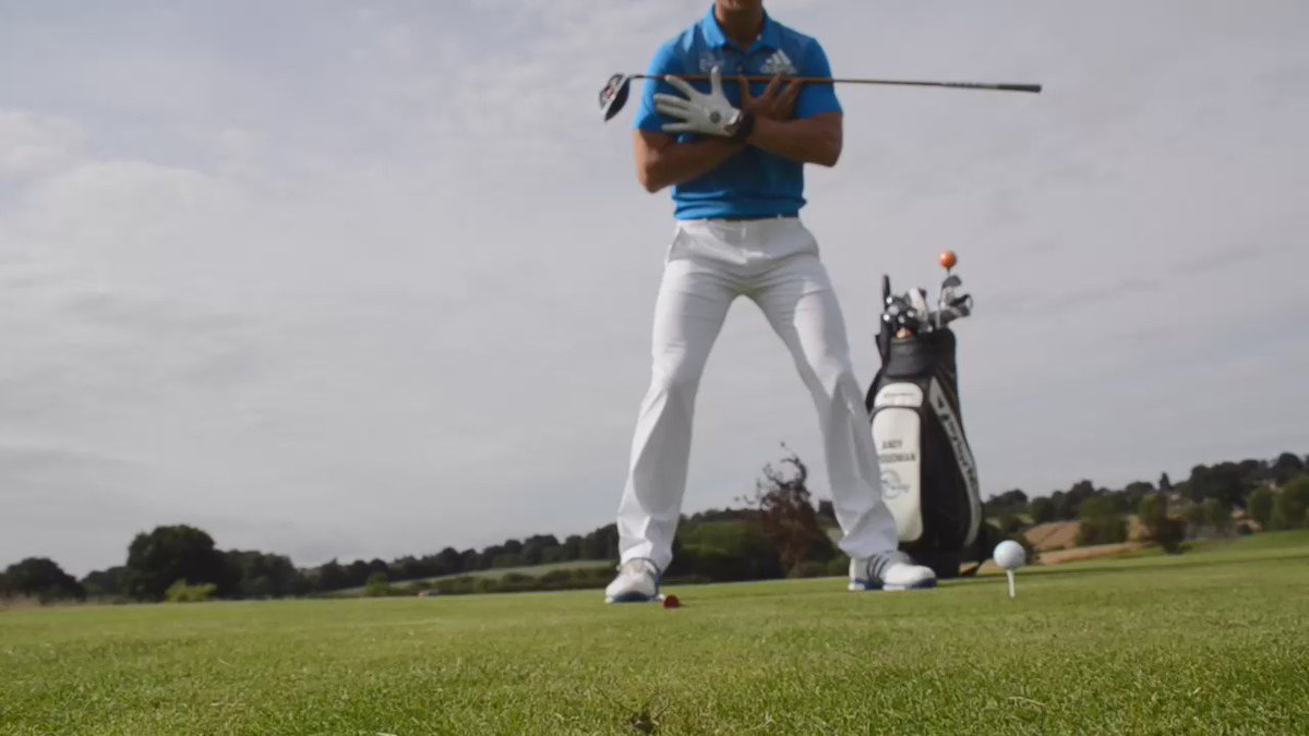 QUICK TIP: PGA Professional Andy Proudman has a great drill to help you get some extra distance: