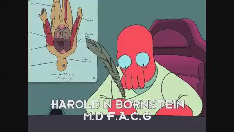 "1/3 Donald J. Trump's, official ""Medical Report"", as read by Dr. John A. Zoidberg.  #MakeAmericaBrannigan https://t.co/bg9iQEFYPm"