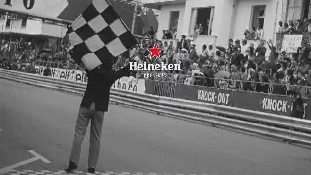 Sir Jackie Stewart, 3 x World Champion. Safety pioneer. See his racing life with a surprising twist! #HeinekenF1 https://t.co/niBwDPYo0L