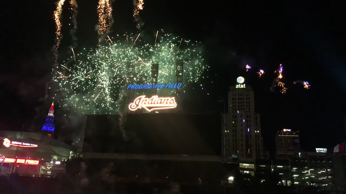 .@indians win!