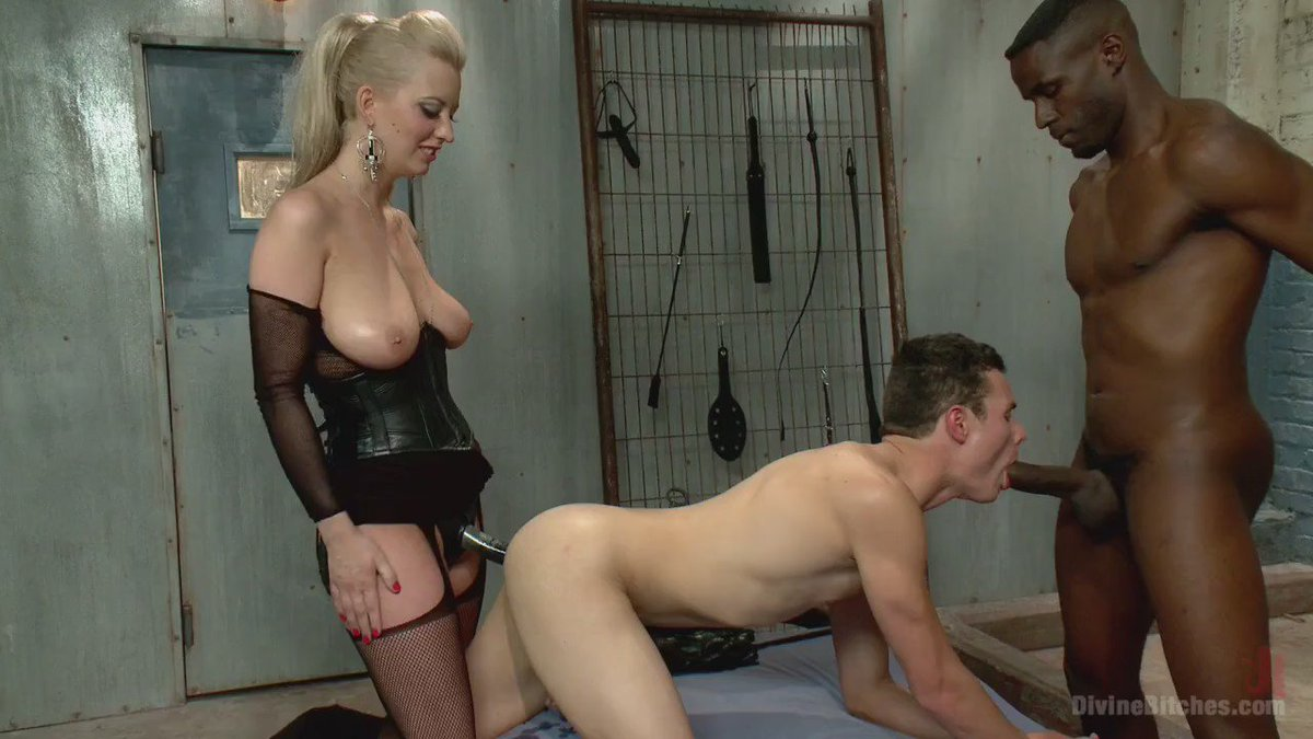 Cuckold mistress white cock