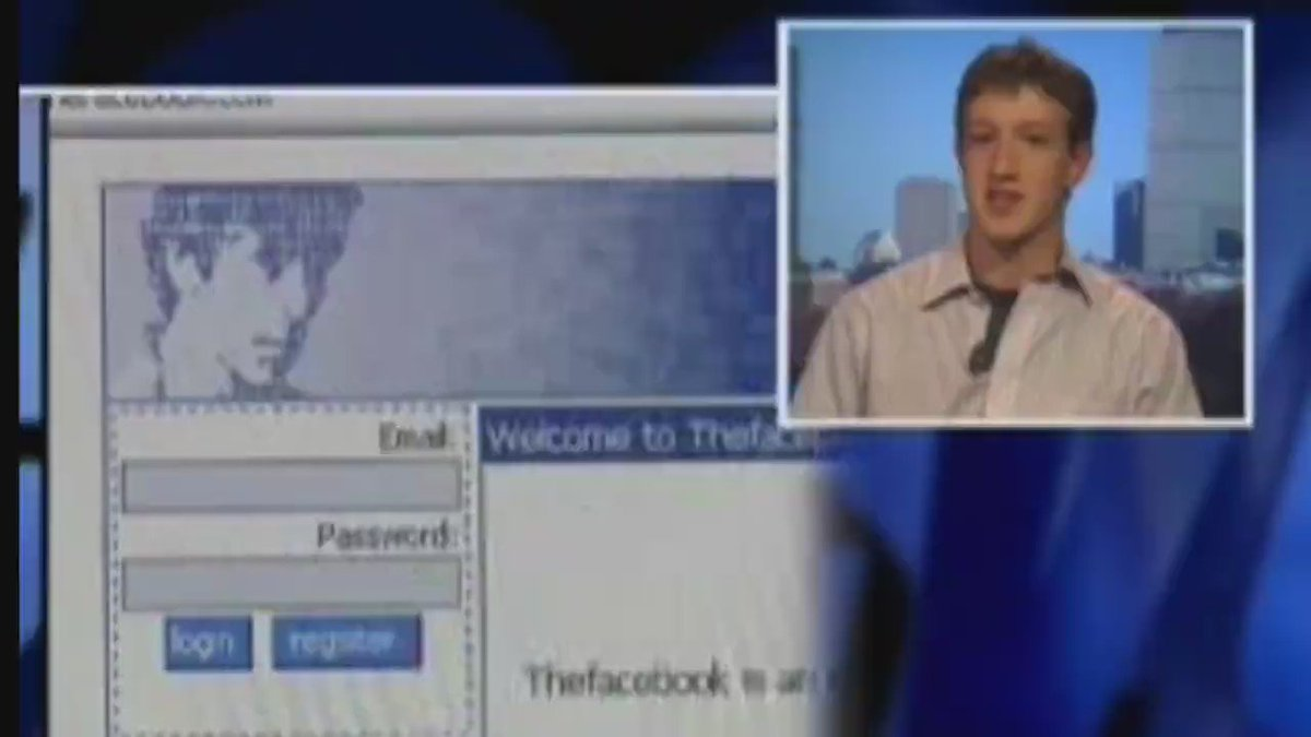 Younger Zuckerberg, 11 years ago, talking 'Facebook'. https://t.co/E52hDm9zf0