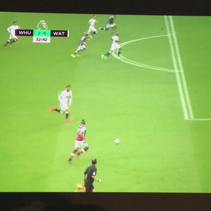Payet with a casual rabona assist