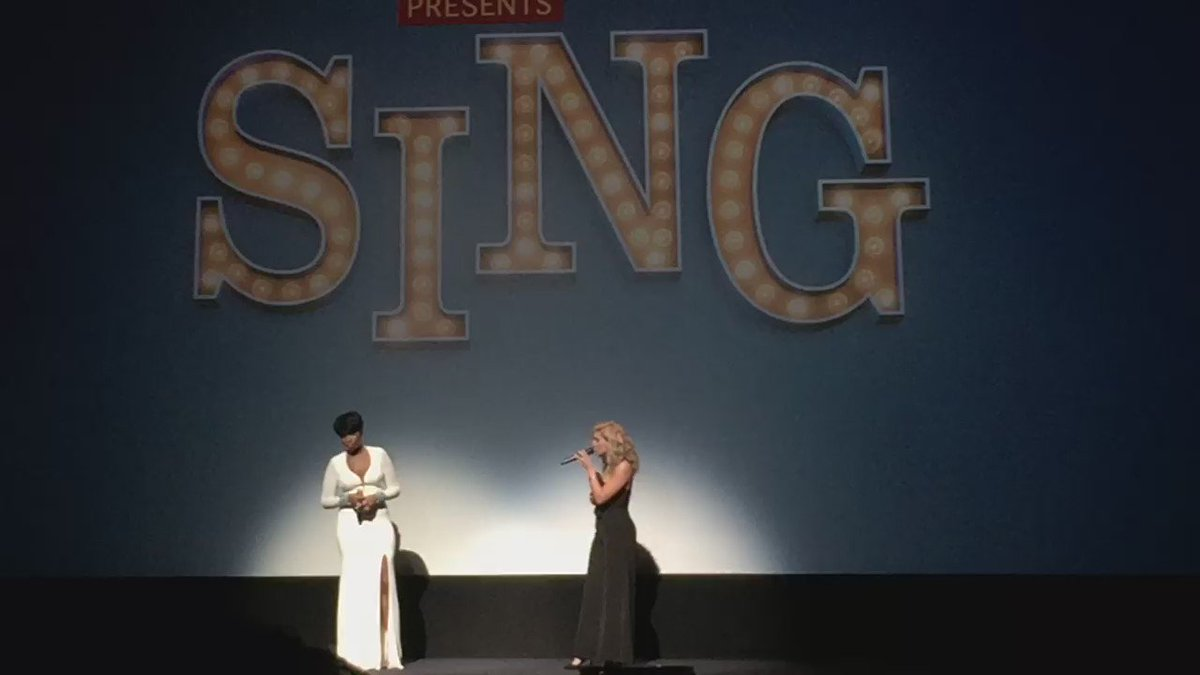 Guys, Jennifer Hudson just joined Tori Kelly on stage and they're crushing it! #TIFF16 #SingMovie https://t.co/uB03BqTv6q
