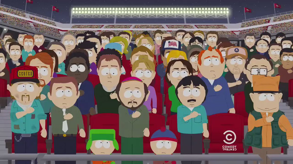 Don't sit this one out! #SouthPark returns this Wednesday on @ComedyCentral with 10 all-new episodes! #mnf https://t.co/EqEKquuf0g