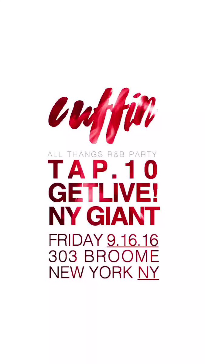 #Cuffin NYC this Friday at @LouieandChan | @tap10 @DJGETLIVE @djnygiant | RSVP: https://t.co/aGpI4Nr5lO https://t.co/xy1NmPdtpW