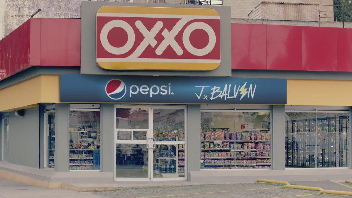 La música se pega con Pepsi Music Proximity, ve por tu lata a @Tiendas_OXXO y libera contenido de @JBALVIN y más. https://t.co/7VxU5wAvYe
