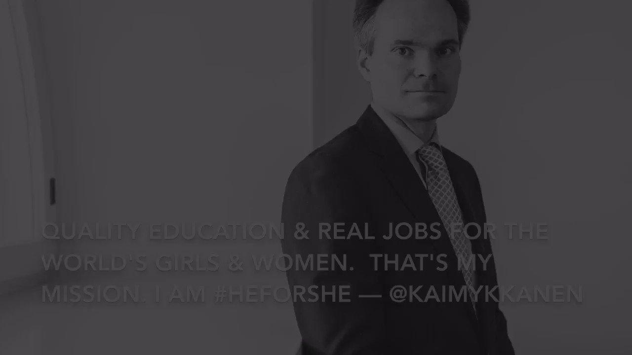 Thumbnail for Ulkopolitiikan vaikuttajamiehet mukana tasa-arvotalkoissa  #HeForShe
