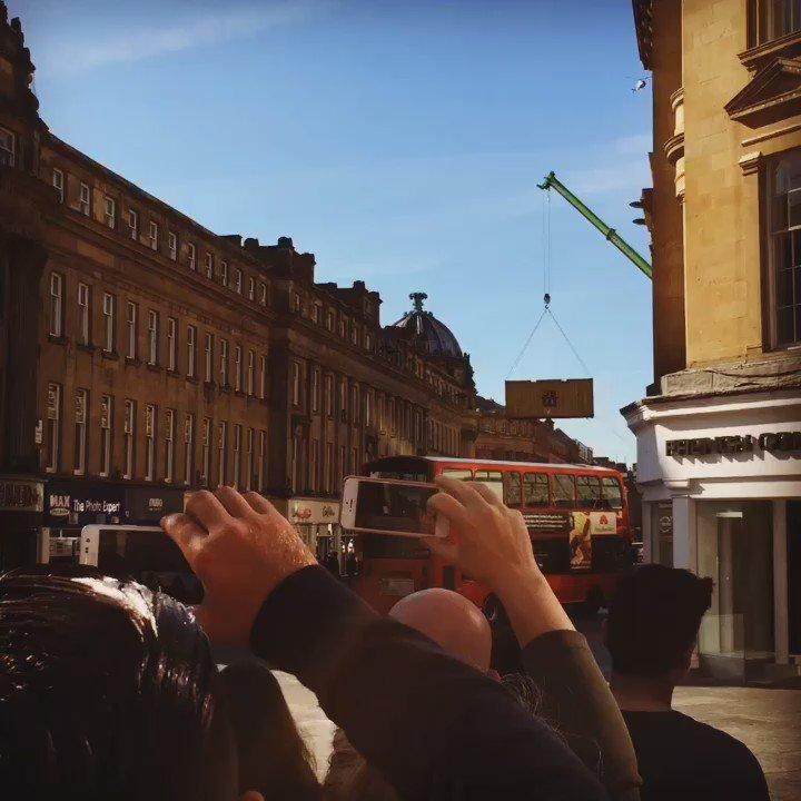 Total Bayhem in town #Newcastle #transformers https://t.co/91tzIMD7He