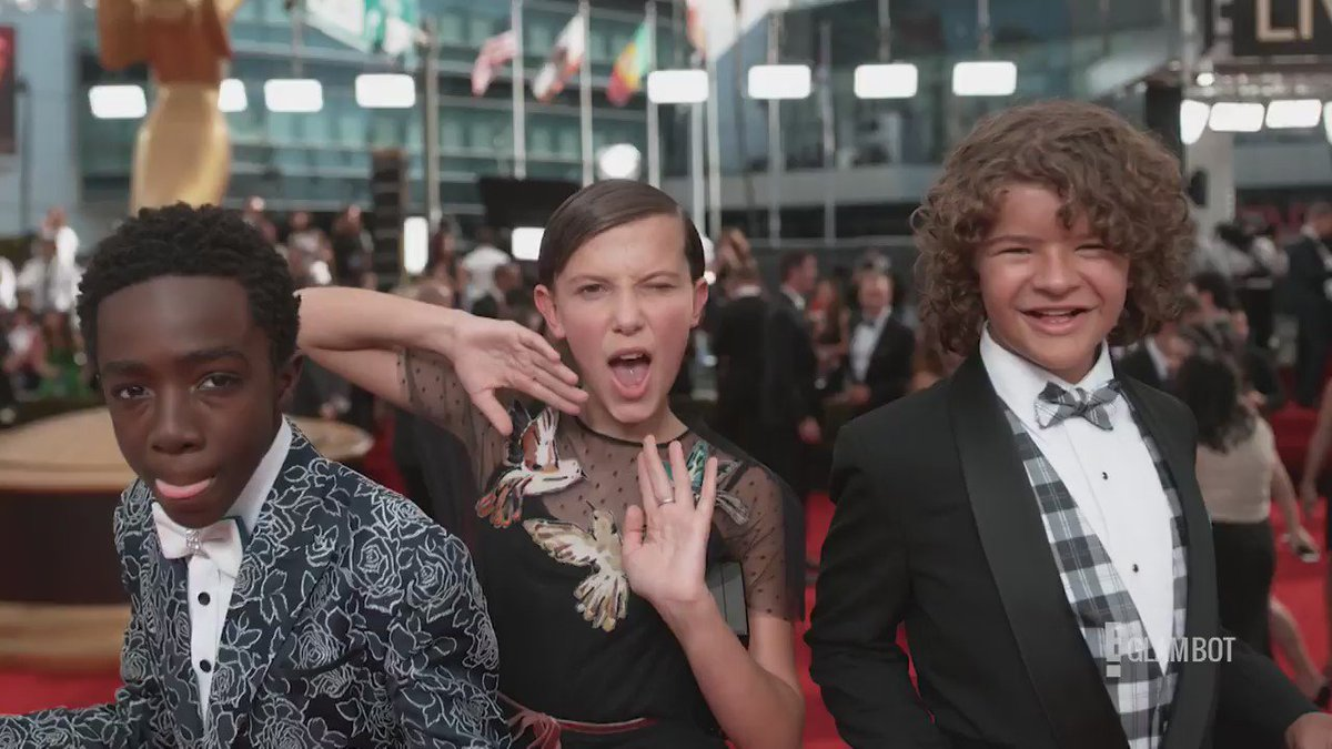 Geeky kids from 'Stranger Things' were the coolest at Emmys