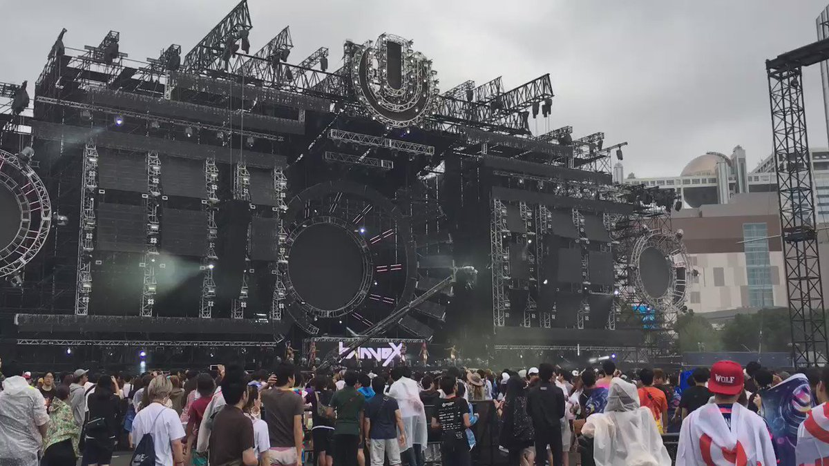banvoxがシティライ #ultrajapan https://t.co/JVYC8YIPPr