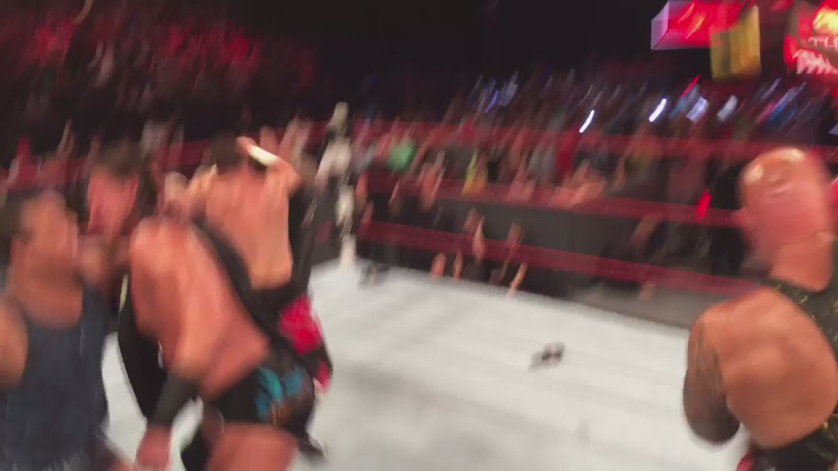 Got it up close and personal with @wwe @WORLDSTAR https://t.co/shX9CPmyKg