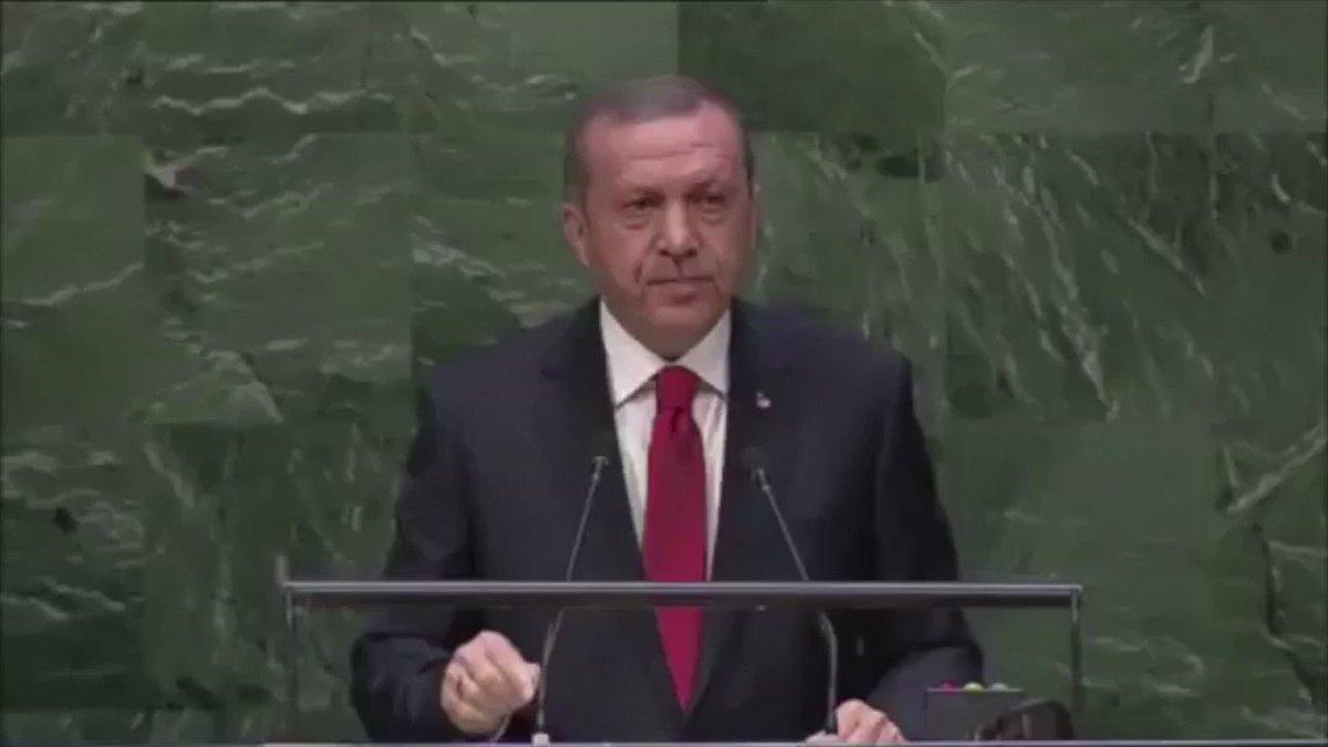 Cumhurbaşkanımız Sayın @RT_Erdogan :  Dünya 🇹🇷