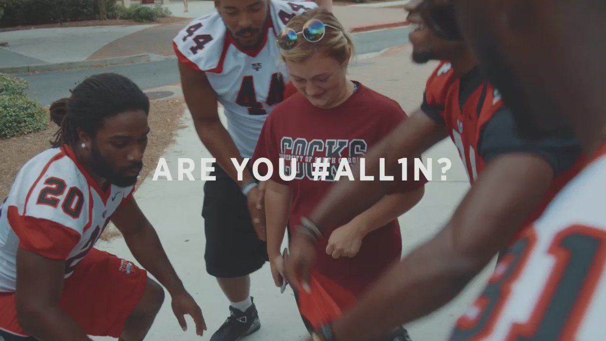 Rep your home team or this could be you. VSU vs. West Florida at home on 9/24 at 7PM. #ALL1N #PaintValdostaRed https://t.co/sPgN6CQck4