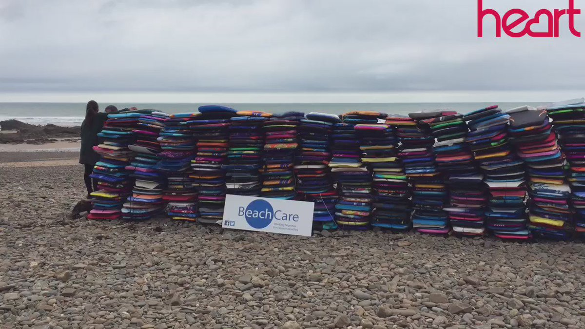 600 bodyboards found on just 3 beaches in Devon and Cornwall in one month @KeepBritainTidy #HeartNews https://t.co/KntBJxHvog