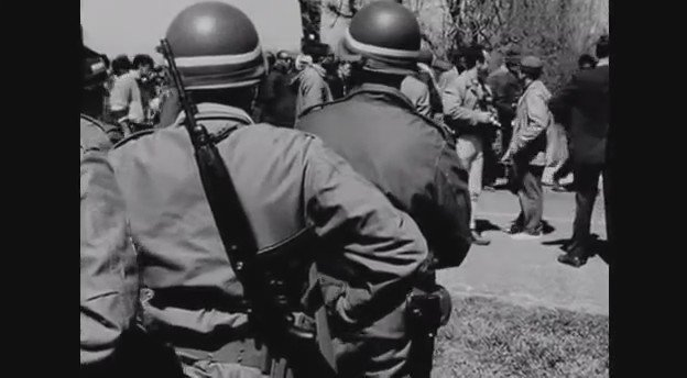 """#TBT 1965: Sheriff Jim Clark of Alabama talks about MLK's marches, """"outside agitators,"""" & the large communist presence at protests."""