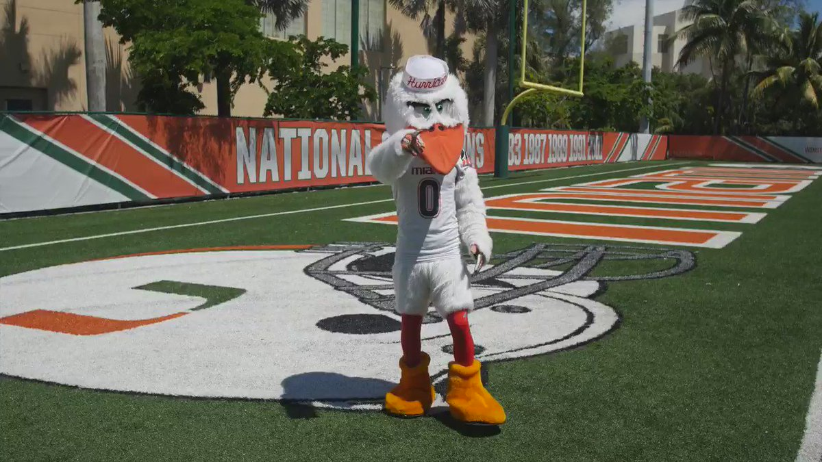 No game this weekend? No problem. Working on my end zone dance this @CanesFootball bye weekend! #ItsAllAboutTheU https://t.co/iNrvELhsdj